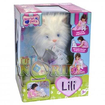 Jucariile Noriel Pets pentru fetite Pisicuta Lili in oferta de Craciun