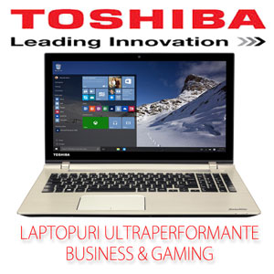 Laptopuri ultraperformante eMAG Toshiba Satellite P50-C-11K