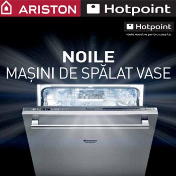 Mașinile de spălat vase Hotpoint, datorită clasei deeficienţă energetică A+ , garantată de noul sistem hidraulicși de tehnologia Ecotech, permit o economisire a energieide până la 15% faţă de clasa A.