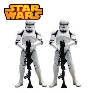 Set 2 Figurine Star Wars Clone Trooper 18 cm