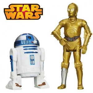 Star Wars Robotii CPO R2D2 Figurine Mission Series