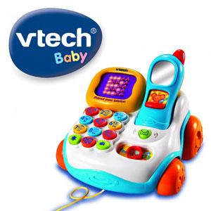 VTECH Primul telefon Jucarie bebelusi 1 an