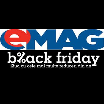 Un Black Friday 2015 Roz pentru eMAG si o Vinere cu adevarat Neagra pentru Domo