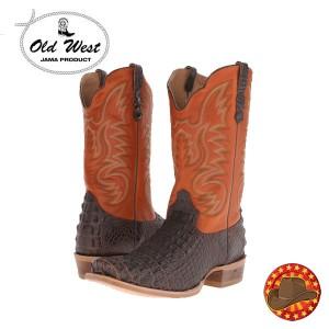 Cizme barbatesti din piele Old West Boots