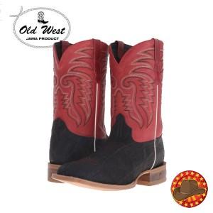 Cizme cowboy barbatesti Old West Boots din piele