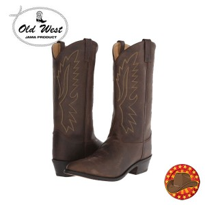 Cizme din piele barbatesti Old West Boots OW2051