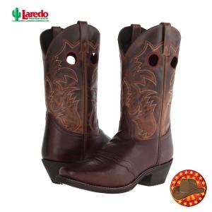 Cizme din piele stil Cowboy Laredo Pequin