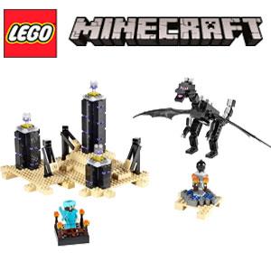 Jucarii LEGO Minecraft Dragonul Ender 21117