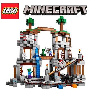 Jucarii LEGO Minecraft cu multe piese Mina