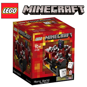 Jucarii Lego Minecraft Micro World The Nether 21106