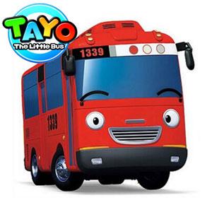 Jucarii Autobuzele Tayo, Rogi, Hana, Lina si compania