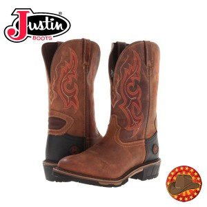 Justin Western Boots Cizme din piele barbatsti Justin WK4644