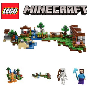 LEGO Minecraft Cutie de crafting 21116