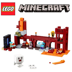 LEGO Minecraft Fortareata din Nether 21122