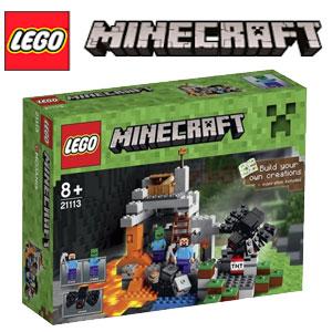 Lego Minecraft Pestera 21113