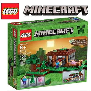 LEGO Minecraft Prima noapte 21115