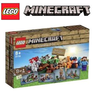 Lego Minecraft Cutia de crafting cod 21116