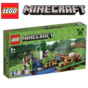 Set LEGO Minecraft Ferma 21114