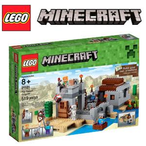Set Lego Minecraft Avanpostul din Desert