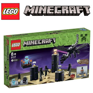 Set joaca LEGO Minecraft Dragonul Ender