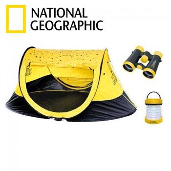Set joaca Micii Exploratori National Geographic cort binoclu lanterna