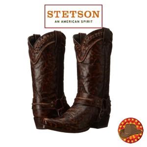 Stetson Outlaw Buckstitch Cizme Western Barbatesti