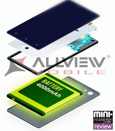 Allview P8 Energy Mini Review: o baterie de 4000MAh cu autonomie sporita