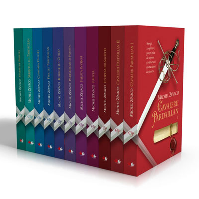 Cele 11 Volume Cavalerii Pardaillan de Michel Zevaco
