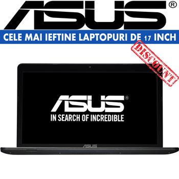 Cele mai ieftine laptopuri de 17 inch Laptop Asus X751LB-TY149D Intel Core i3