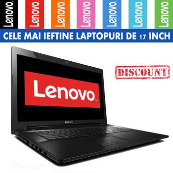 Cele mai ieftine laptopuri de 17 inch Laptop Lenovo G70-80 cu procesor Intel Core i3-5005U