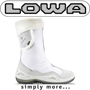 Cizme de iarna albe LOWA Solden Goretex GTX WS