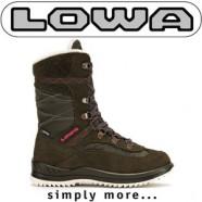 Iarna descopera muntele dar si zapada orasului cu cizmele de dama LOWA