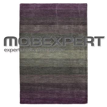 Covor din lana Mobexpert Avalon dimensiuni 2 pe 3 metri tesut manual suport din bumbac
