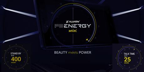P8 Energy Mini Smartphone cu autonomie pentru zile lungi