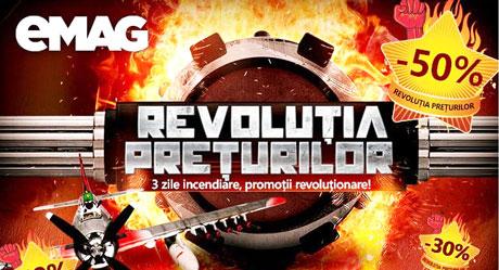 Revolutia Preturilor 2016 la eMAG Marea campanie de reduceri si discounturi