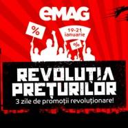 Campania de reduceri cu pana la 50% a preturilor la eMAG Revolutia Preturilor 2016