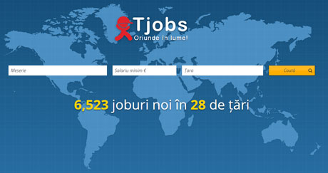 TJOBS Cauta un loc de munca in strainatate - Completeaza CV-ul pentru a fi contactat