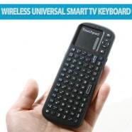 Tastaturi wireless universale ieftine cu touchpad pentru Smart TV-ul tau
