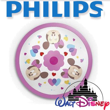 Aplica perete camera copii, Philips, Disney, Minnie, LED