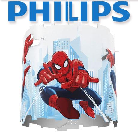 Aceasta lampa suspendabila de la Philips si Marvel Spiderman, cu decupaje nebunesti, proiecteaza modele jucause pe peretii dormitorului si este intensa si colorata. Avand imaginea lui Spiderman in plina actiune, lampa inspira vise bogate si placute!