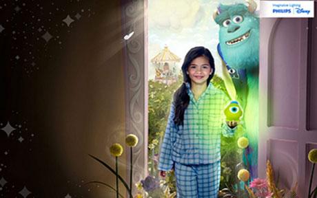 Gama de lampi si veioze pentru camera copilului de la Philips Magia Disney