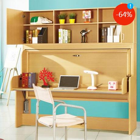 Dormitor multifunctional copii Kring Shift Pat transformabil in birou studio Preturi reduse mobila eMAG