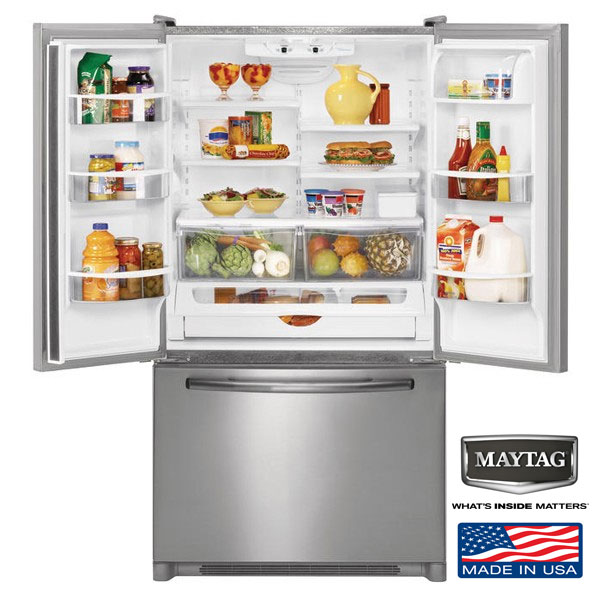 Frigider Side-by-Side MAYTAG 5GFC20PRAA model american