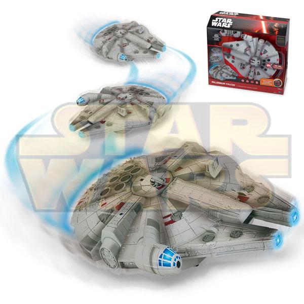 Jucarie cu telecomanda Star Wars Han Solo Millennium Falcon
