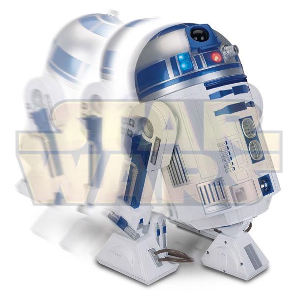 Jucarie cu telecomanda Star Wars Robotelul droid R2-D2 din Razboiul Stelelor
