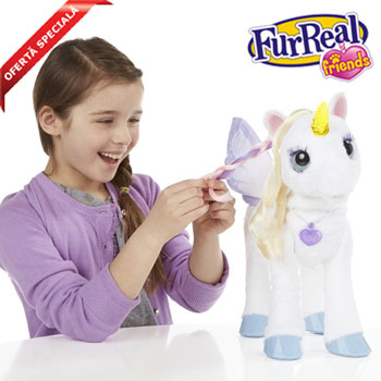 Jucarii fetite 3-4 ani FurReal Friends Unicornul StarLily
