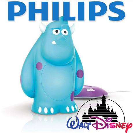 Lampa portabila Philips Disney Sulley LED pentru camera copiilor