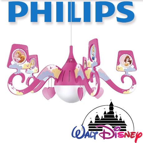 Acest candelabru roz realizat de Philips si Disney Princess aduce magia in camera oricarei fetite. Este decorata cu printesele ei preferate, Cenusareasa, Alba ca Zapada, Frumoasa Adormita si altele, si cu inimi suspendate. Aceasta lampa realizata de Philips si Disney pentru dormitorul copilului dvs. creeaza un mediu care incurajeaza copiii sa se rasfete cu ceea ce le place mai mult - distractie si creativitate! Un loc in care copilul dvs. poate invata, se poate juca si poate dormi alaturi de personajul preferat Disney. Aceasta lampa este conceputa sa ofere siguranta copilului dvs.