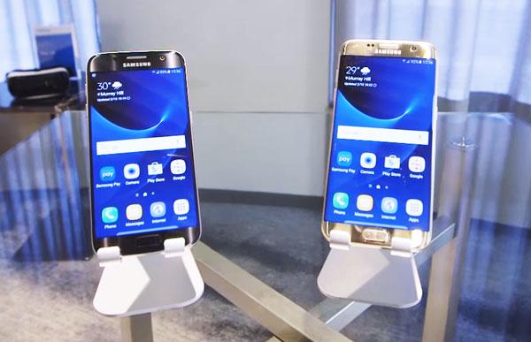 Noile modele de smartphone-uri Samsung Galaxy S7 si Samsung Galaxy S7 edge