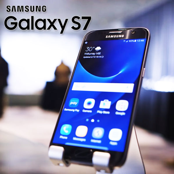 Smartphone-ul Samsung Galaxy S7 Fotografii de la lansare